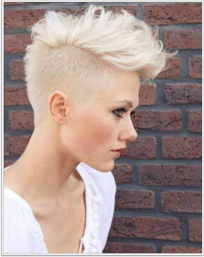 100+ Short Hairstyles For Women Approvedjohn Frieda's Method With Regard To Blonde Curly Mohawk Hairstyles For Women (View 24 of 27)