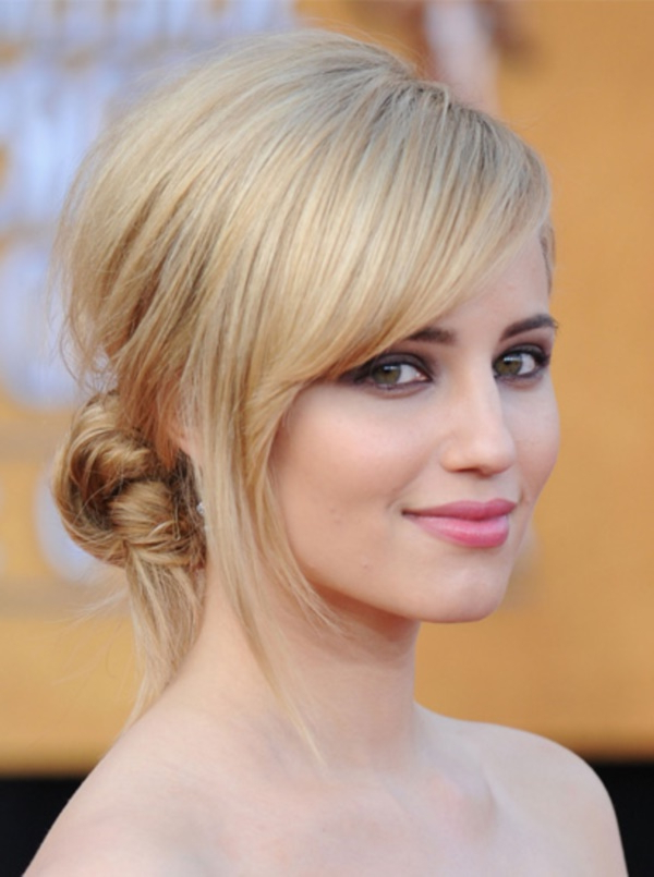 100 Side Swept Updos Hairstyles To Try This Year Within Loose Flowy Curls Hairstyles With Long Side Bangs (View 17 of 25)