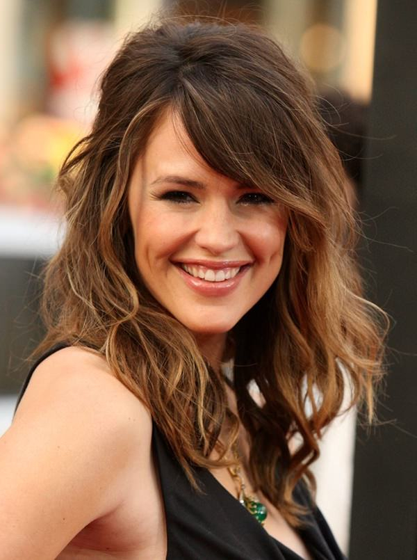 101 Classic Side Swept Bangs For Every Type Of Hair – Style In Long Wavy Hairstyles With Side Swept Bangs (View 12 of 25)