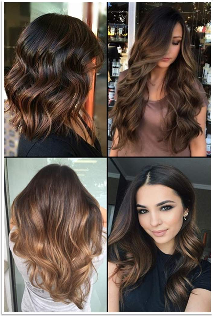 109 Stunning Brown Hair Color Ideas Regarding Black To Light Brown Ombre Waves Hairstyles (View 20 of 25)