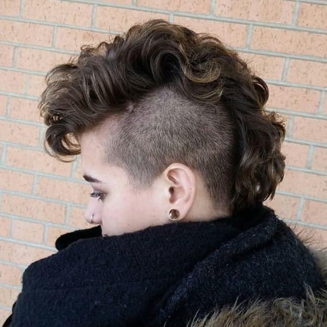 11 Bold Mohawk Hairstyles For Girls To Try – Hairstylecamp Pertaining To Medium Length Blonde Mohawk Hairstyles (View 20 of 25)