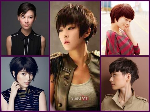 11 Trendy Pixie Hairstyles For Asian Girls With Regard To High Pixie Asian Hairstyles (View 13 of 25)