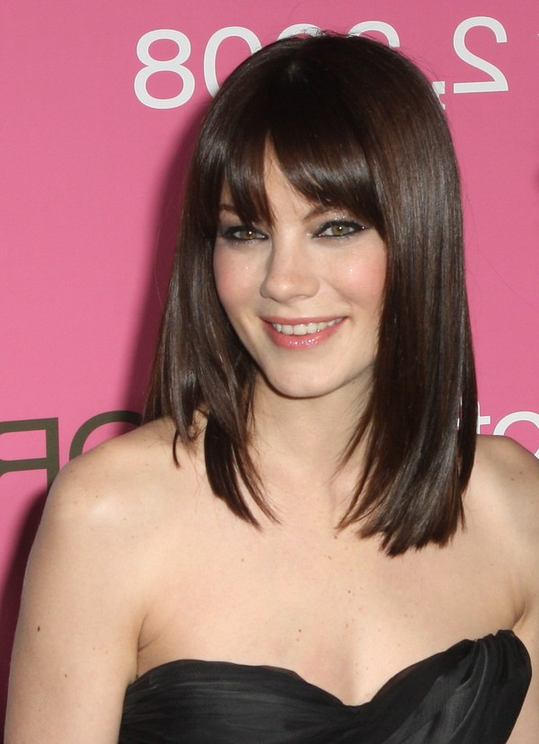 111 Best Layered Haircuts For All Hair Types [2019 For Long Straight Layered Hairstyles With Fringes (View 13 of 25)
