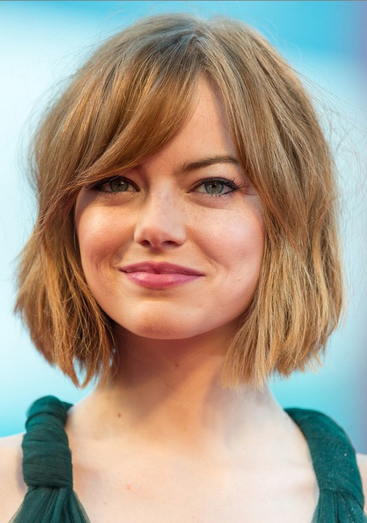 12 Hot Short Hairstyles With Bangs | Styles Weekly With Hort Bob Haircuts With Bangs (View 22 of 25)