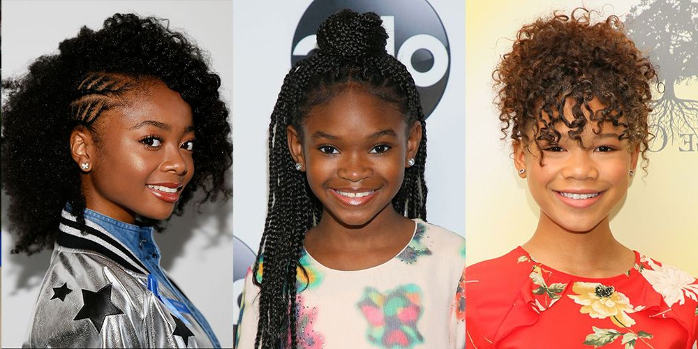 14 Easy Hairstyles For Black Girls – Natural Hairstyles For Kids In High Bun With Twisted Hairstyles Wrap And Graduated Side Bang (View 5 of 25)