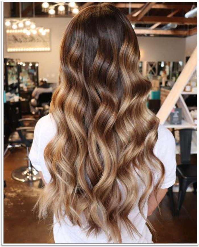 145 Amazing Brown Hair With Blonde Highlights With Regard To Long Waves Hairstyles With Subtle Highlights (View 17 of 25)