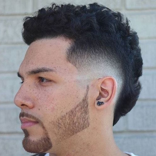 Featured Photo of Sharp And Clean Curly Mohawk Haircuts