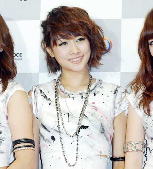 15 Best Korean Bob Hairstyle 2014 – 2015 | Short Hairstyles Intended For Asymmetrical Bob Asian Hairstyles (View 20 of 25)