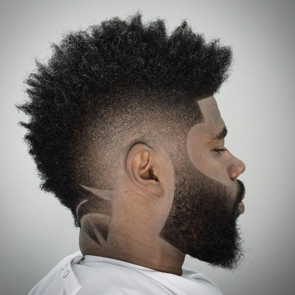 15 Best Mohawk Fade Haircuts For Men – The Trend Spotter For Sharp And Clean Curly Mohawk Haircuts (View 15 of 25)