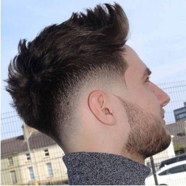 15 Best Mohawk Fade Haircuts For Men – The Trend Spotter Intended For Long Straight Hair Mohawk Hairstyles (View 13 of 25)
