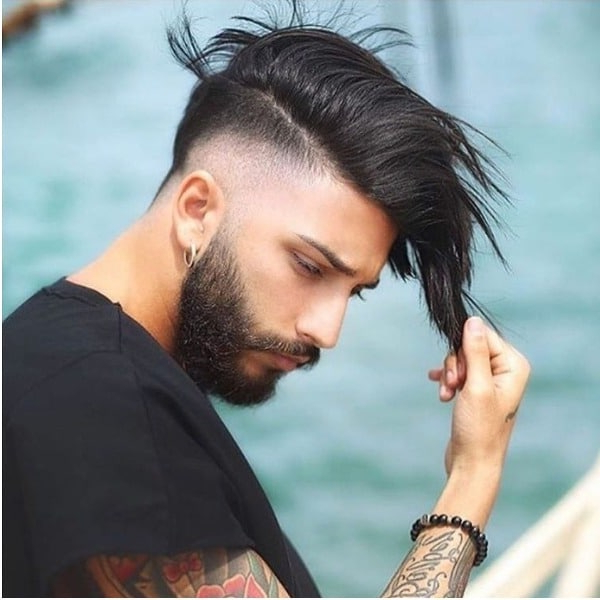 15 Best Mohawk Fade Haircuts For Men – The Trend Spotter With Regard To Long Straight Hair Mohawk Hairstyles (View 18 of 25)