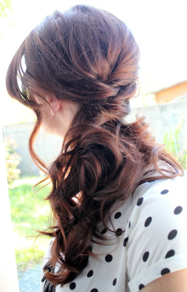 15 Hot Side Ponytail Hairstyles: Romantic, Sleek, Sexy& For Loose Low Ponytail Hairstyles With Casual Side Bang (View 5 of 25)