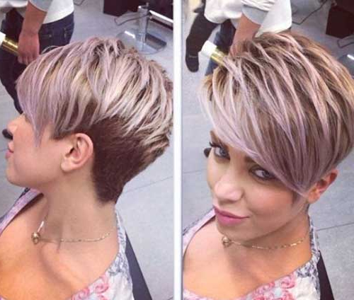 15 Modern Pixie Haircuts | Pixie Cut – Haircut For 2019 With Highlighted Pixie Hairstyles (View 9 of 25)