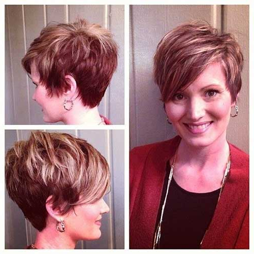 15 New Medium Pixie Haircuts Inside Highlighted Pixie Hairstyles (View 5 of 25)