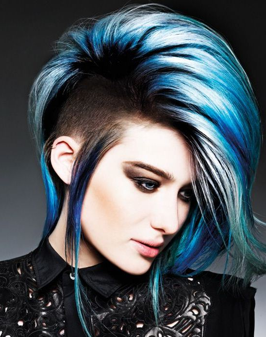 15 Stunning Mohawk Hairstyles Inside Long Hair Roll Mohawk Hairstyles (View 16 of 25)