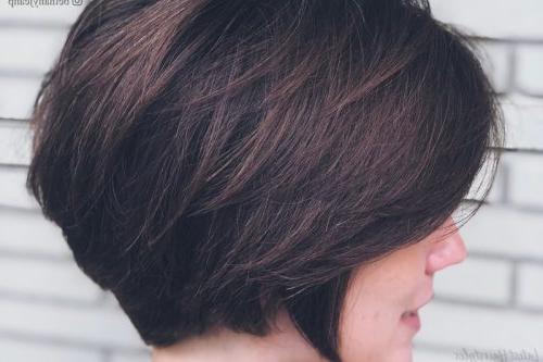17 Short Layered Bob Haircuts Trending In 2019 Pertaining To Layered Short Bob Haircuts (View 25 of 25)