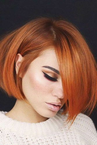 18 Blunt Bob Hairstyles To Wear This Season | Lovehairstyles Pertaining To Bright Bob Hairstyles (View 18 of 25)