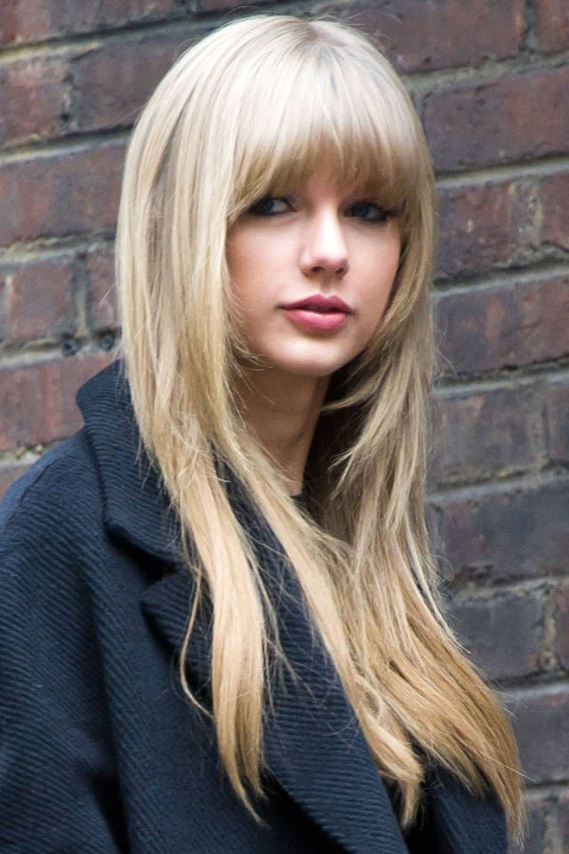 18 Freshest Long Layered Hairstyles With Bangs: Face Framing Pertaining To Long Straight Layered Hairstyles With Fringes (View 3 of 25)