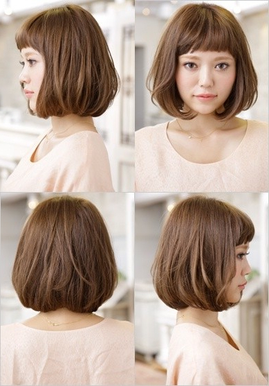 18 New Trends In Short Asian Hairstyles – Popular Haircuts Regarding Blunt Bangs Asian Hairstyles (View 13 of 25)
