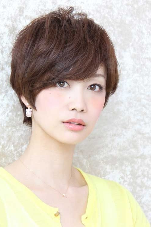 18 New Trends In Short Asian Hairstyles – Popular Haircuts Regarding Textured Pixie Asian Hairstyles (View 9 of 25)