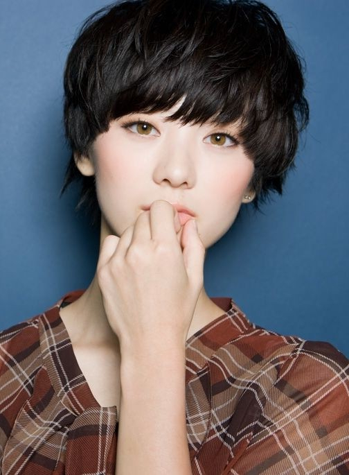 18 New Trends In Short Asian Hairstyles – Popular Haircuts Within Textured Pixie Asian Hairstyles (View 14 of 25)