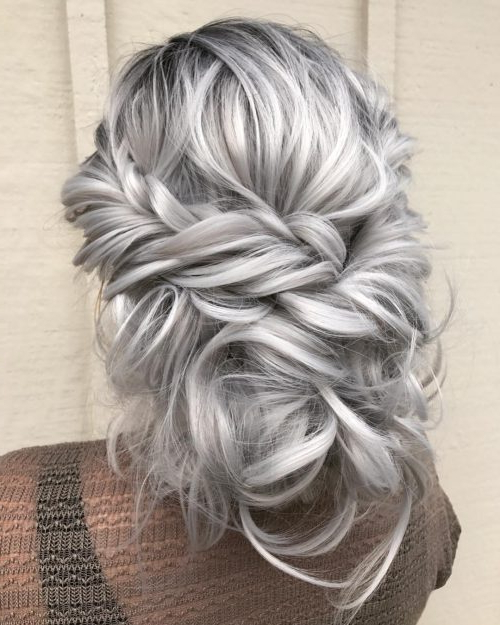 18 Sexiest Messy Updos You'll See In 2019 Throughout Messy Updo Hairstyles With Free Curly Ends (View 17 of 25)