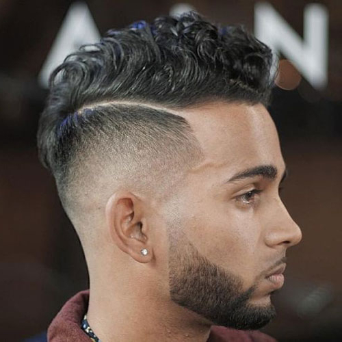 19 Best Mohawk Fade Haircuts (2019 Guide) For Messy Curly Mohawk Haircuts (View 4 of 25)