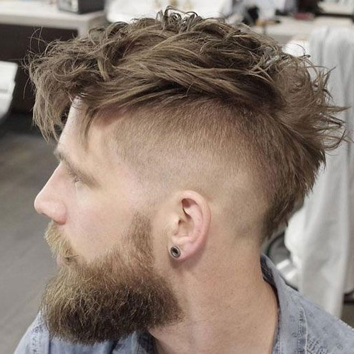 19 Best Mohawk Fade Haircuts (2019 Guide)   High Fade In Messy Curly Mohawk Haircuts (View 3 of 25)