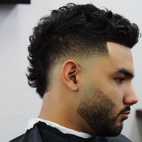 19 Best Mohawk Fade Haircuts (2019 Guide) Pertaining To Messy Curly Mohawk Haircuts (View 5 of 25)