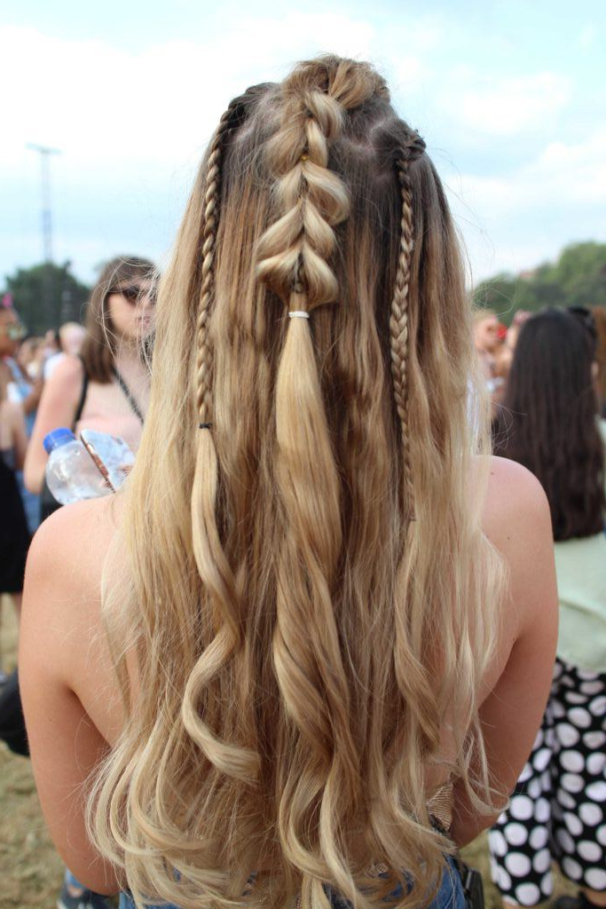19 Festival Braids It Girls Will Be Wearing This Summer Within Blue Braided Festival Hairstyles (View 7 of 25)