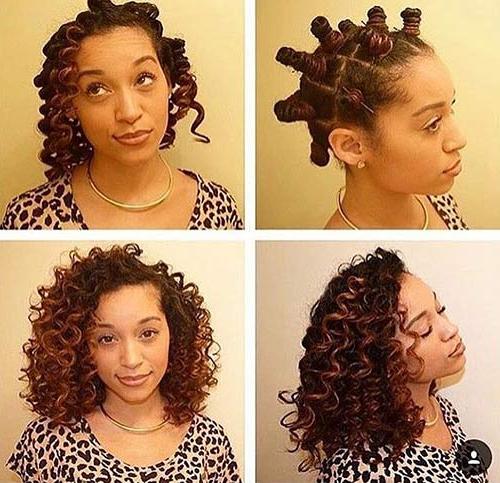 20 Best Bantu Knots Hairstyles Throughout Twisted Bantu Mohawk Hairstyles (View 21 of 25)