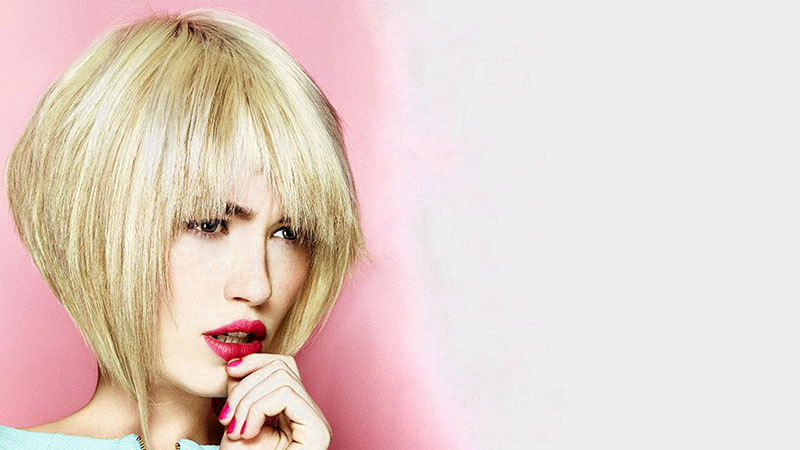 20 Best Inverted Bob Haircuts For Women – The Trend Spotter Pertaining To Blonde Bob Haircuts With Side Bangs (View 16 of 25)