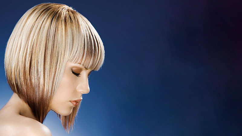 20 Best Inverted Bob Haircuts For Women – The Trend Spotter Regarding Chin Length Bob Hairstyles With Middle Part (View 14 of 25)