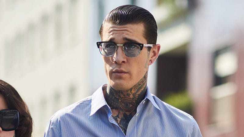 20 Best Slicked Back Hairstyles For Men – The Trend Spotter With Regard To Long Hairstyles With Slicked Back Top (View 6 of 25)