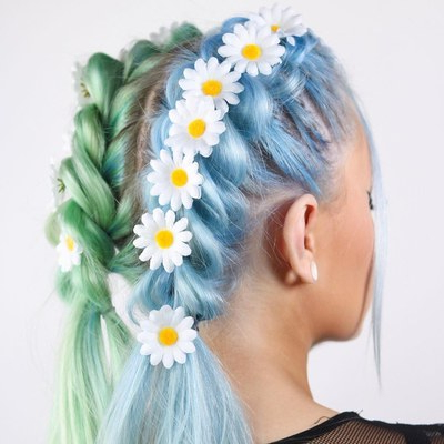 20 Festival Hairstyle Ideas For 2018 – Music Festival Hair With Blue Braided Festival Hairstyles (View 14 of 25)