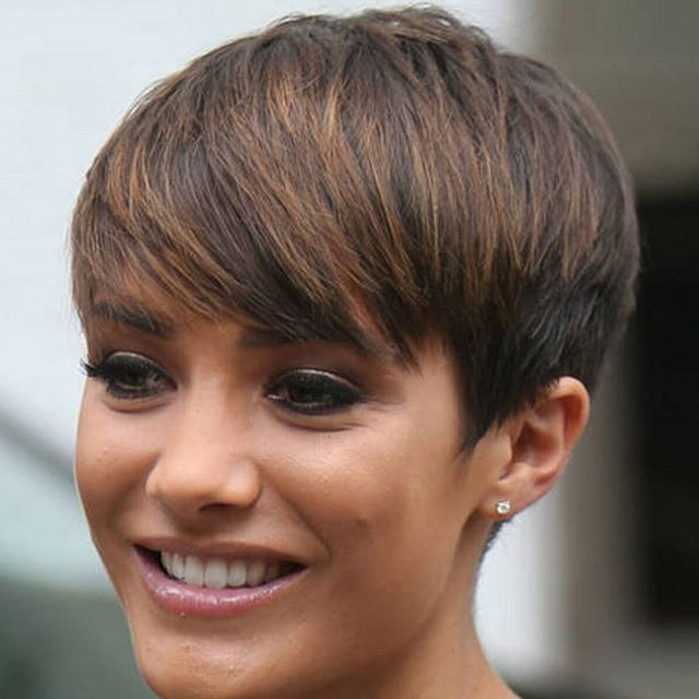 20 Gorgeous Short Pixie Haircuts With Bangs 2020 Intended For Highlighted Pixie Hairstyles (View 8 of 25)