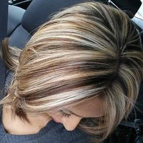 20 Highlighted Bob Hairstyles | Bob Hairstyles 2018 – Short Intended For Highlighted Short Bob Haircuts (View 15 of 25)