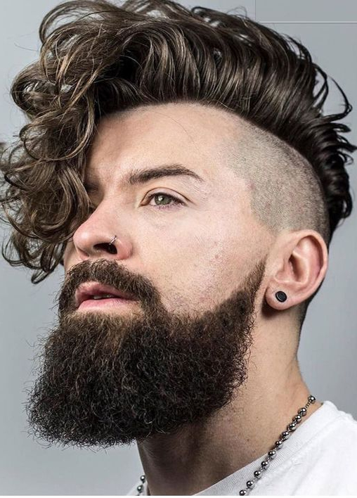 20 Ideal Mohawk Styles For Men With Curly Hair (2019 Update) Pertaining To Messy Curly Mohawk Haircuts (View 7 of 25)