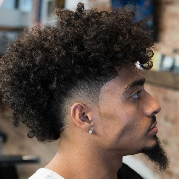 20 Ideal Mohawk Styles For Men With Curly Hair (2019 Update) With Messy Curly Mohawk Haircuts (View 8 of 25)