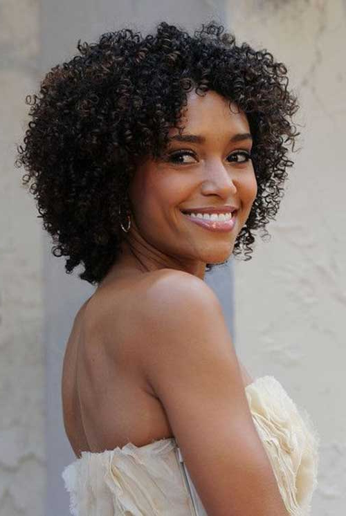 20 Naturally Curly Short Hairstyles Within Pixie Haircuts With Tight Curls (View 18 of 25)
