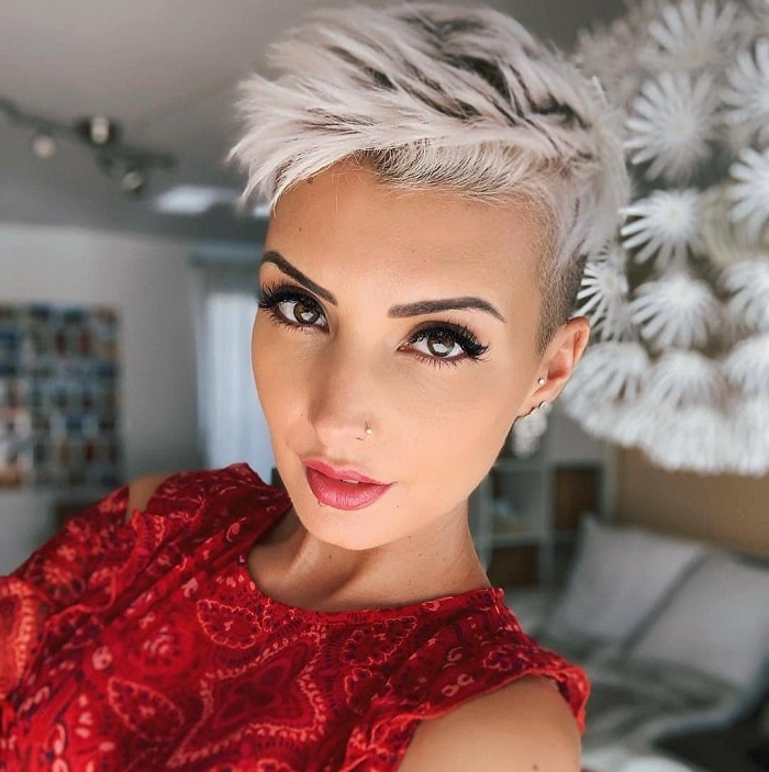 20 Pixie Haircuts For Girls That Will Be Huge In 2019 Throughout Bold Pixie Haircuts (View 9 of 25)