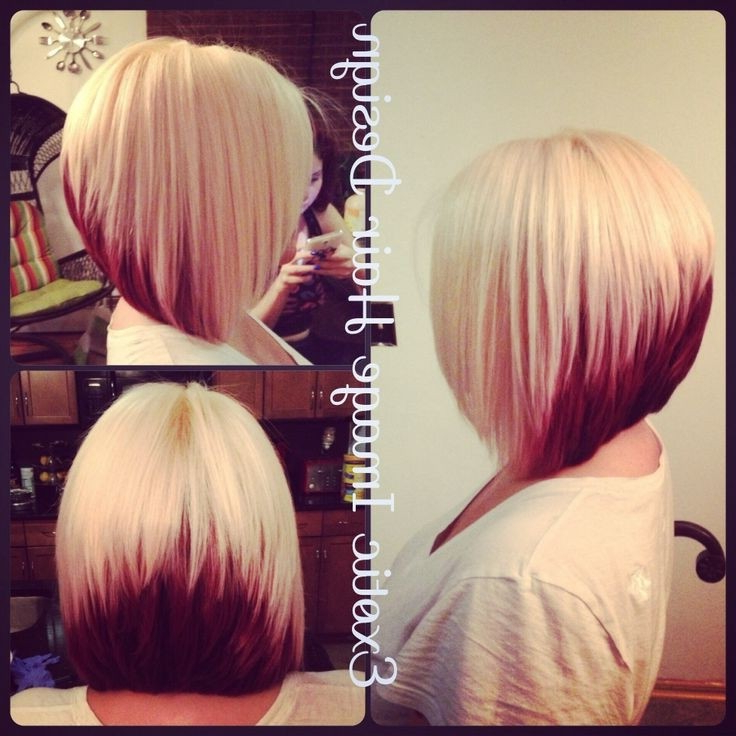 20 Pretty Bob Hairstyles For Short Hair – Popular Haircuts For Pink Asymmetrical A Line Bob Hairstyles (View 24 of 25)