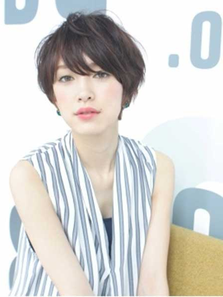 20 Pretty Short Asian Hairstyles Regarding Messy Pixie Asian Hairstyles (View 14 of 25)