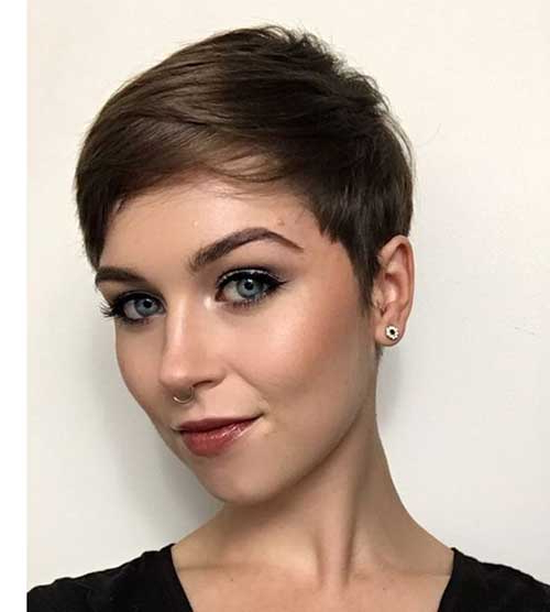 20 Superb Short Pixie Haircuts For Women Pertaining To Bold Pixie Haircuts (View 21 of 25)