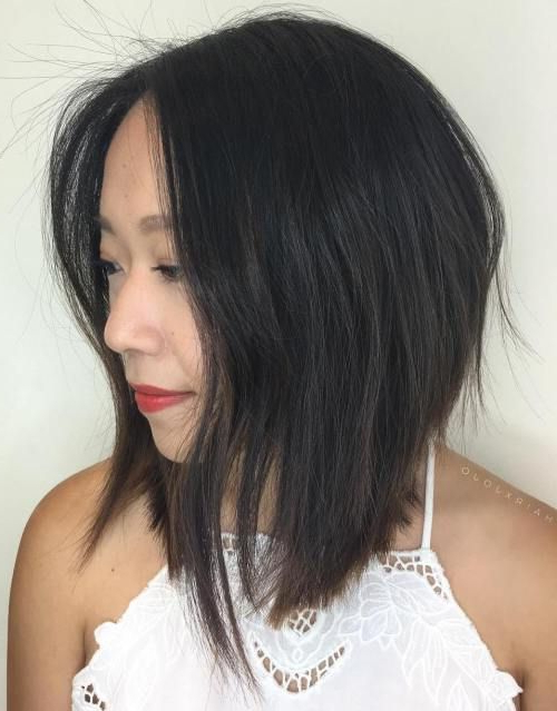 20 Ways To Make A Long Inverted Bob All Your Own | Long Bob Regarding Elongated Bob Asian Hairstyles (View 3 of 25)