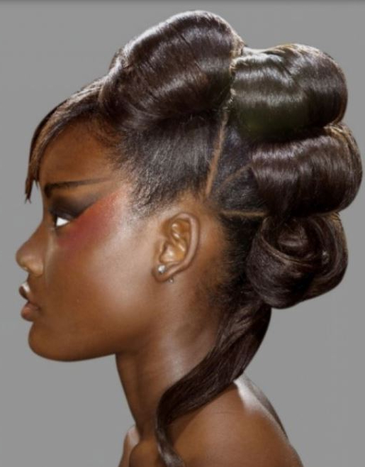 2015 Mohawk Updo Hairstyle For Black Women With Regard To Mohawk Updo Hairstyles For Women (View 20 of 25)