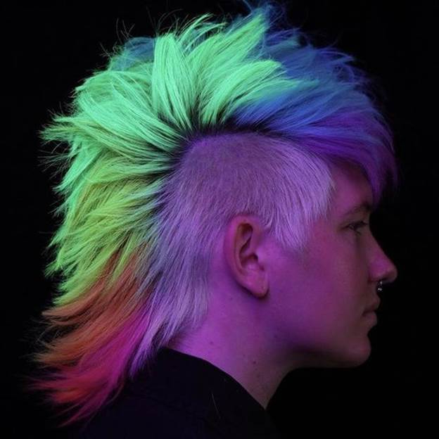 21 Appealing Mohawk Hairstyles For Your Little Boys For Blue Hair Mohawk Hairstyles (View 18 of 25)