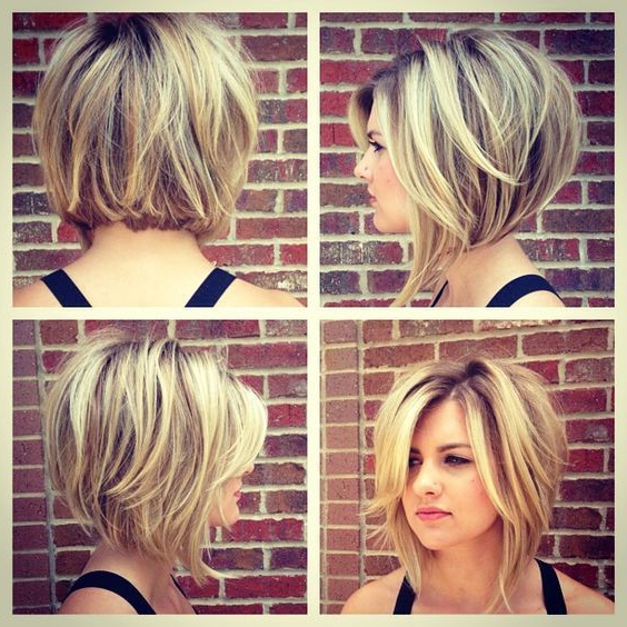 21+ Best Stacked Bob Hairstyles Ideas For 2018 – 2019 Throughout Simple And Stylish Bob Haircuts (View 11 of 25)