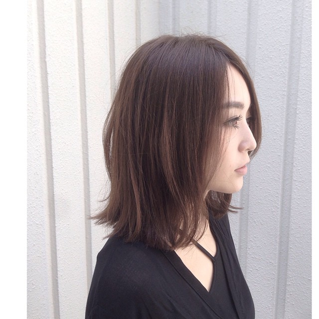 21 Cute Medium Length Bob Hairstyles: Shoulder Length Pertaining To Asian Medium Hairstyles With Textured Waves (View 13 of 25)