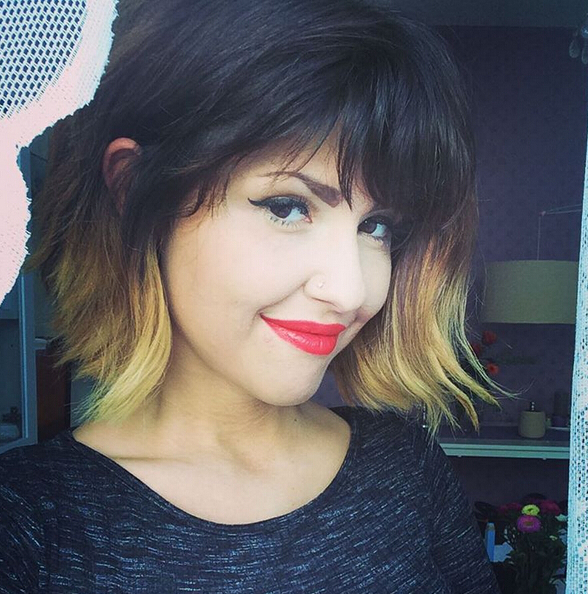 22 Bright Bob Hairstyles With Bangs: Style, Texture & Colour With Regard To Bright Bob Hairstyles (View 13 of 25)